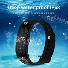 V66 Đồng Hồ Thông Minh Bluetooth 4.0 Đo Nhịp Tim Bước Tập Thể Hình Vòng Tay Chống Nước IP68 OLED Màn Hình Cho Điện Thoại Thông Minh-quốc tế