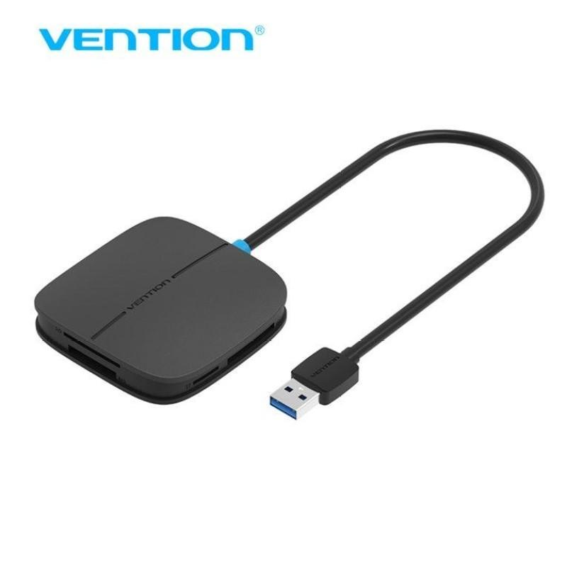 Bảng giá Chính hãng vention 0.5 m USB 3.0 5 trong 1 Đầu Đọc Thẻ Nhớ Đa Năng SD TF CF MS Thẻ Thông Minh đầu đọc-quốc tế Phong Vũ
