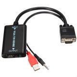 Giá Bán Vga Zu Auf Hdmi Konverter Kabel Mit Audio Adapter Wandler Bis 1080P Full Hd Hdtv Intl Trong Hong Kong Sar China