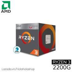 Hình ảnh Vi xử lý CPU AMD Ryzen 3 2200G
