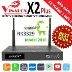 Giá Bán Vinabox X2Plus Chipset Rk3329 Android 6 New 2018 Trực Tuyến