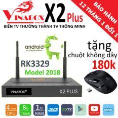 Giá Bán Vinabox X2Plus Chipset Rk3329 Android 6 Tặng Chuột 180K