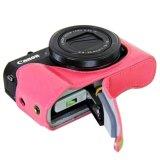 Bán Mua Trực Tuyến Da Vintage Camera Danh Cho May Ảnh Kts Canon Powershot G7Xii G7 X Ii G7X Markii G7 X Mark Ii Tui Đựng May Ảnh Qt