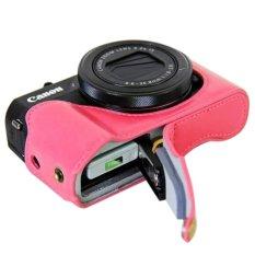 Chiết Khấu Da Vintage Camera Danh Cho May Ảnh Kts Canon Powershot G7Xii G7 X Ii G7X Markii G7 X Mark Ii Tui Đựng May Ảnh Qt