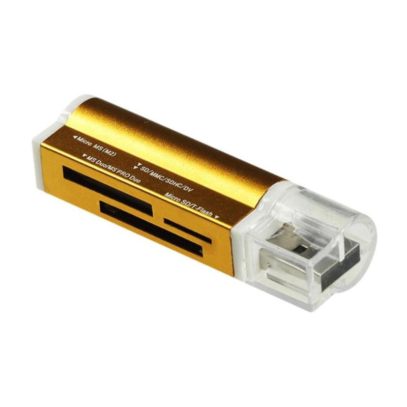 Bảng giá Vishine trung tâm-Hữu Ích Di Động USB2.0 Nhớ Đa Năng Tốc Độ Cao Tích Hợp Đầu Đọc Thẻ-quốc tế Phong Vũ
