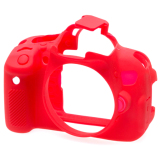 Chiết Khấu Vỏ Bảo Vệ Cho Canon 650D 700D T4I T5I Easycover Đỏ Có Thương Hiệu