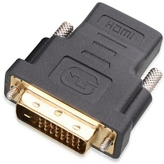 Hình ảnh Vococal DVI-D Nam đến Đầu Nối HDMI (Đen/Vàng)-quốc tế