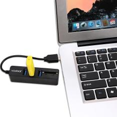 VODOOL HUB 3 Cổng USB 2.0 Bộ Tập Trung với Đầu Đọc Thẻ Bộ Chuyển Đổi