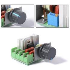 Hình ảnh Bộ Điều Chỉnh điện áp 2000 wát SCR Điều Khiển Tốc Độ Động Cơ Đèn Mờ Bình Giữ Nhiệt AC 220 v-quốc tế