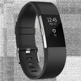 Bán Vong Đeo Sức Khỏe Fitbit Charge 2 Black Size L Người Bán Sỉ