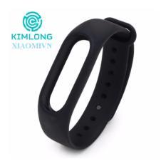 Hình ảnh Vòng đeo tay thay thế Rin Chính hãng cho Xiaomi Miband 2 , mi band 2 (Đen)