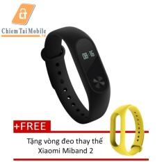 Bán Mua Vong Đeo Tay Xiaomi Miband 2 Đen Tặng Vong Đeo Thay Thế Xiaomi Miband 2 Hồ Chí Minh
