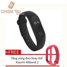 Ôn Tập Vong Đeo Tay Xiaomi Miband 2 Đen Tặng Vong Đeo Thay Thế Xiaomi Miband 2 Trong Hồ Chí Minh