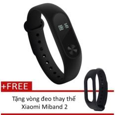 Mã Khuyến Mại Vong Đeo Tay Xiaomi Miband 2 Đen Tặng Vong Đeo Thay Thế Xiaomi Miband 2 Đen Xiaomi
