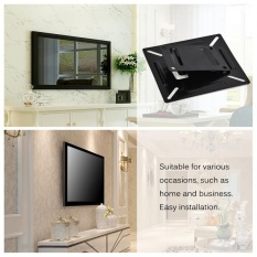Hình ảnh Wall-mounted Stand Bracket Holder for 12-24 Inch LCD LED Monitor TV PC Screen - intl