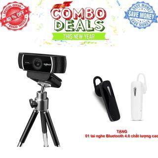 Webcam Logitech HD Webcam C922 Pro Stream - Bảo hành 12 tháng thumbnail