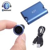 Bộ Tai Nghe Bluetooth X2T Mini Khong Day 4 2 Xanh Dương Quốc Tế Vakind Chiết Khấu 50