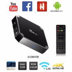 Bán X96 Mini Android 7 1 2 Amlogic S905W 4K Kodi 17 3 Tv Box With Ir Receiver 2Gb 16Gb Wifi Lan Hdmi Nhập Khẩu