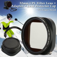 VND 215.000 XCSource 52mm CPL Filter Lens+Adapter+Lens Protector Cap for GoPro Hero4 Session LF715 - intlVND215000