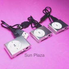 (XEM VIDEO) Máy Nghe Nhạc Mp3 (không kèm tai nghe) - (màu Bạc)  Tặng kèm dây sạc  Mp3 chất lượng cao  Sun Plaza