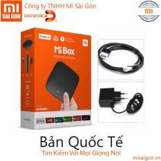Cửa Hàng Xiaomi Mi Box 3 Mdz 16 Ab Quốc Tế Version 4K Android 6 Full Tiếng Việt Trong Hồ Chí Minh
