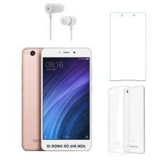 Bán Mua Xiaomi Redmi 4A 16G Hồng Ốp Lưng Kinh Cường Lực Tai Nghe Hang Nhập Khẩu Mới Hà Nội