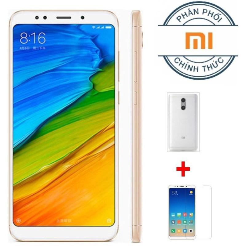 Xiaomi Redmi 5 16G Ram 2G (Vàng) + Ốp lưng +Cường lực- Hãng Phân Phối Chính Thức