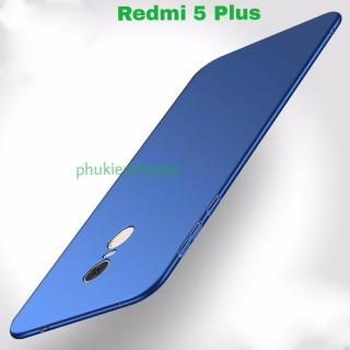 Xiaomi Redmi 5 Plus ốp lưng nhám nhung nhựa mỏng cao cấp thumbnail