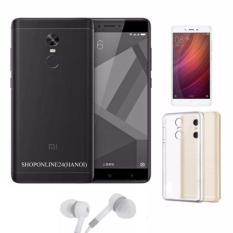 Giá Bán Xiaomi Redmi Note 4X 32Gb Đen Nham Tai Nghe Ốp Lưng Kinh Cường Lực Hang Nhập Khẩu Nhãn Hiệu Xiaomi