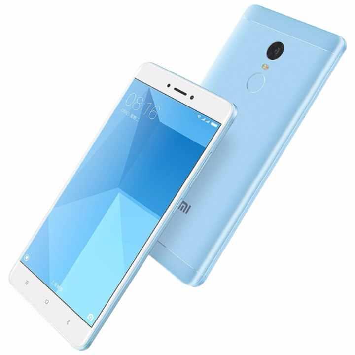 Xiaomi Redmi Note 4x 32GB Ram 3GB 2017 (Blue) - Hàng nhập khẩu + Cường lực + Ốp silicon