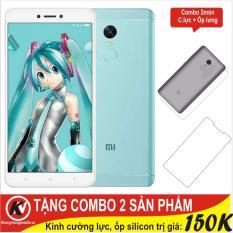Giá Bán Xiaomi Redmi Note 4X 32Gb Ram 3Gb Khang Nhung Xanh Ngọc Cường Lực Ốp Silicon Hang Nhập Khẩu Tốt Nhất