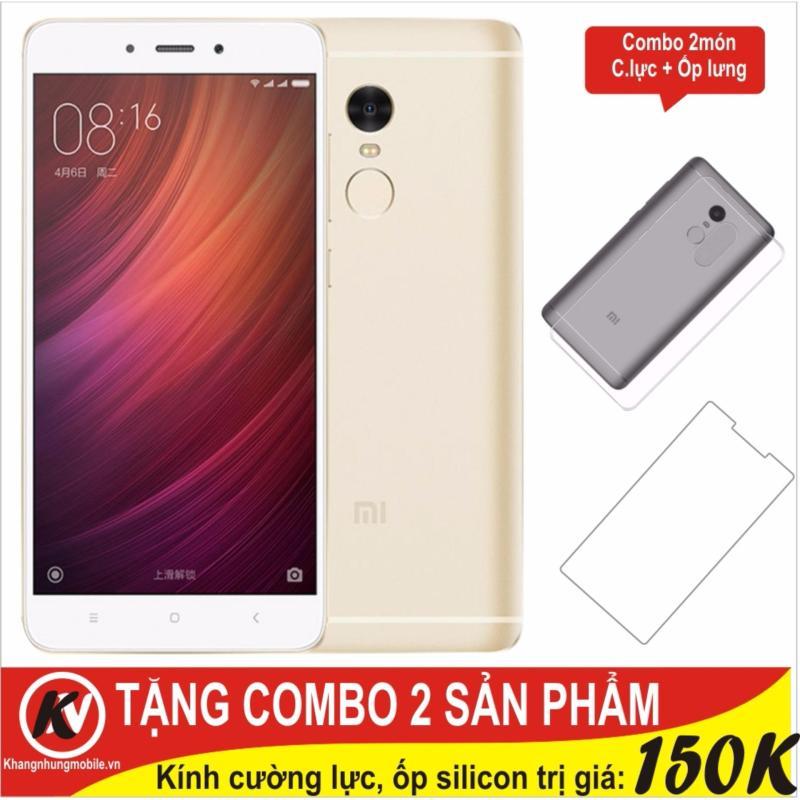 Xiaomi Redmi Note 4X 32GB Ram 3GB (Vàng) + Cường lực + Ốp silicon - Hàng nhập khẩu