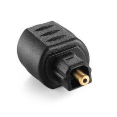 Hình ảnh YBC 3.5mm Optical Mini Female Jack Plug To Digital Toslink Male Audio Adapter - intl