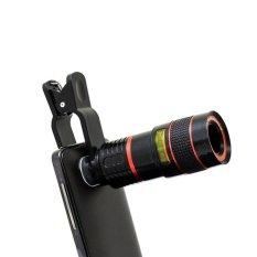 Hình ảnh YBC Ống Kính Điện Thoại Phóng To Gấp 8 Lần Kính Thiên Văn Fisheye cho iPhone Samsung Sony Huawei-quốc tế