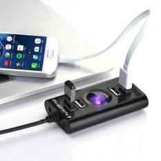 Hình ảnh YOSOO High Speed USB to 4 Ports USB 2.0 Hub Splitter Adapter for PC Computer Laptop and More - intl