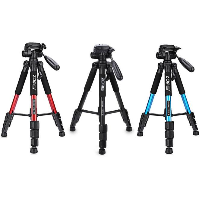 ... Zomei Q111 56 inch Lightweight Aluminum Tripod with Bag ...