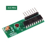 ZR06A DC5V Giải Mã Không Dây Module Thu Truyền Dữ Liệu Mô Đun 315 mhz-quốc tế