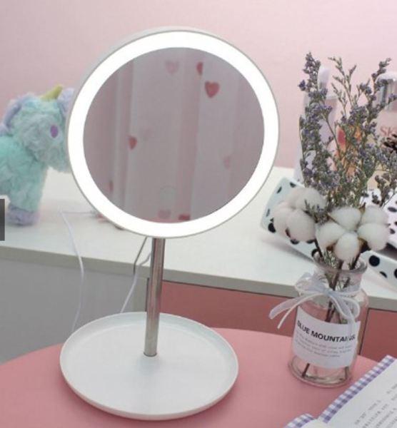 [XINH GHÊ CHỊ EM] Gương trang điểm - Gương để bàn - đèn led giá rẻ