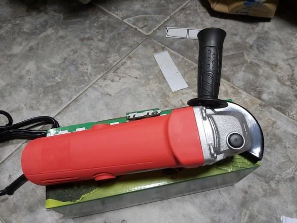 Máy mài góc cầm tay Aotuo công suất 1200W - máy cắt cầm tay, máy đánh bóng - lõi đồng - tặng 2 chổi than thay thế - công tắc đuôi tiện lợi