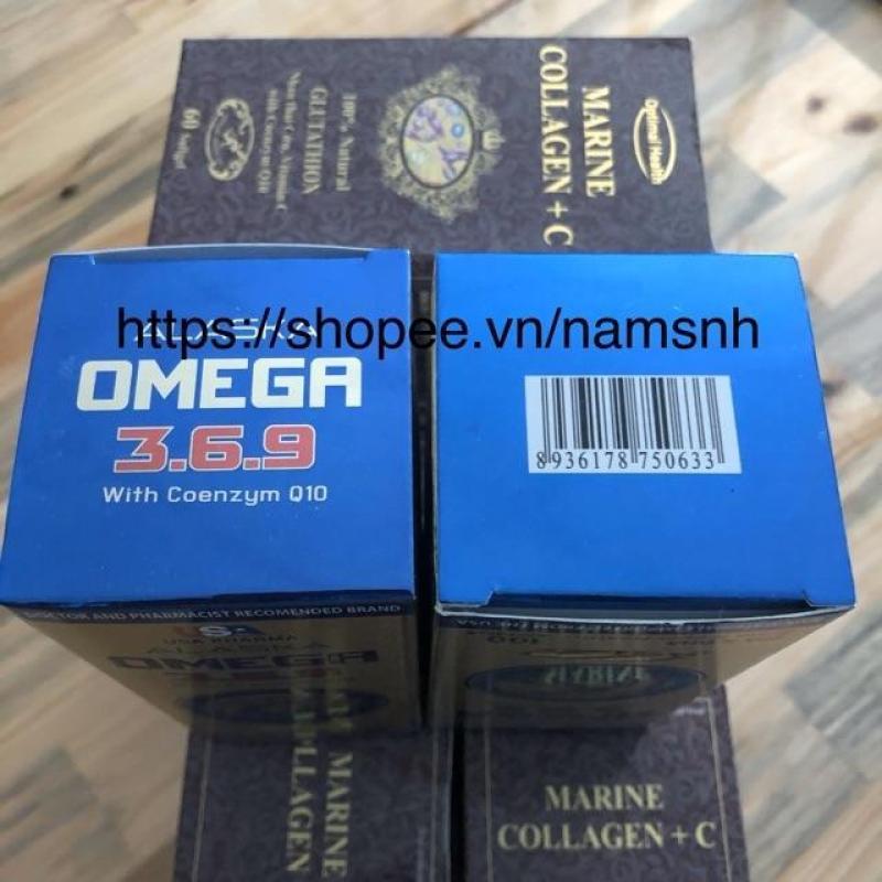 Viên uống dầu cá - Dầu Cá Alaska Omega cao cấp