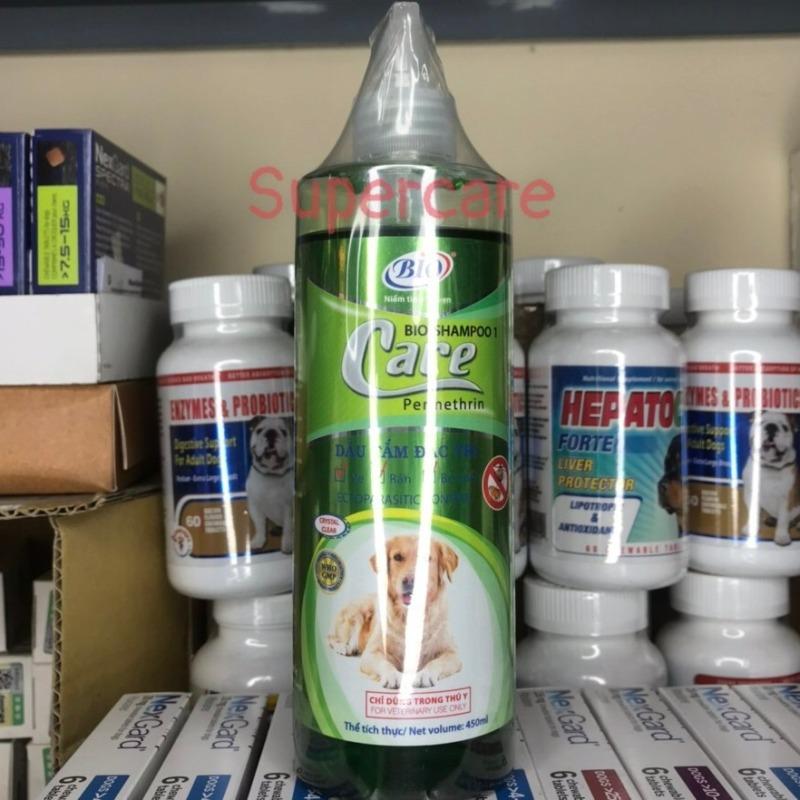 Sữa Tắm Bio Care 450ml Sạch Ve Bọ Chét Chó Mèo