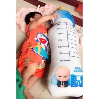 GỐI ÔM BÌNH SỮA BABY BOSS (70cm) GỐI ÔM HÌNH BÌNH SỮA thumbnail