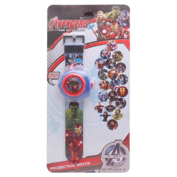 Giá bán Đồng hồ chiếu hình 3D điện tử đeo tay đủ hình nhân vật hoạt hình thú vị cho bé trai và bé gái – DH016