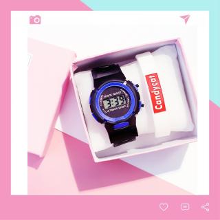 Đồng Hồ Trẻ Em Điện Tử LCD Thông Minh Đẹp Shock Resist DH74 thumbnail