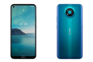 Điện thoại Nokia 3.4 (4/64GB) 2 Nano SIM Hỗ trợ 4G  Dung lượng pin 4000 mAh Hàng chính hãng Bảo hành 12 tháng