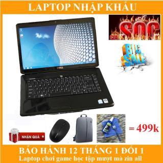 Laptop Dell Inspiron 1545 I2 ram 2GB SSD 128gb+ phiếu bảo hành 12 tháng + bộ sản phẩm quà tặng giá trị hấp dẫn thumbnail