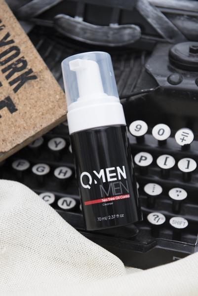 QMEN – TEA TREE OIL CLEANSER - SỮA RỬA MẶT LÀM SẠCH MỤN giá rẻ