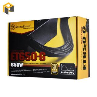 Nguồn máy tính SilverStone ET650-G Asus TUF Gaming thumbnail