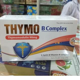 Viên uống tăng sức đề kháng THYMO B COMPLEX- Tăng cường hệ miễn dịch , nâng cao sức đề kháng hiệu quả thumbnail