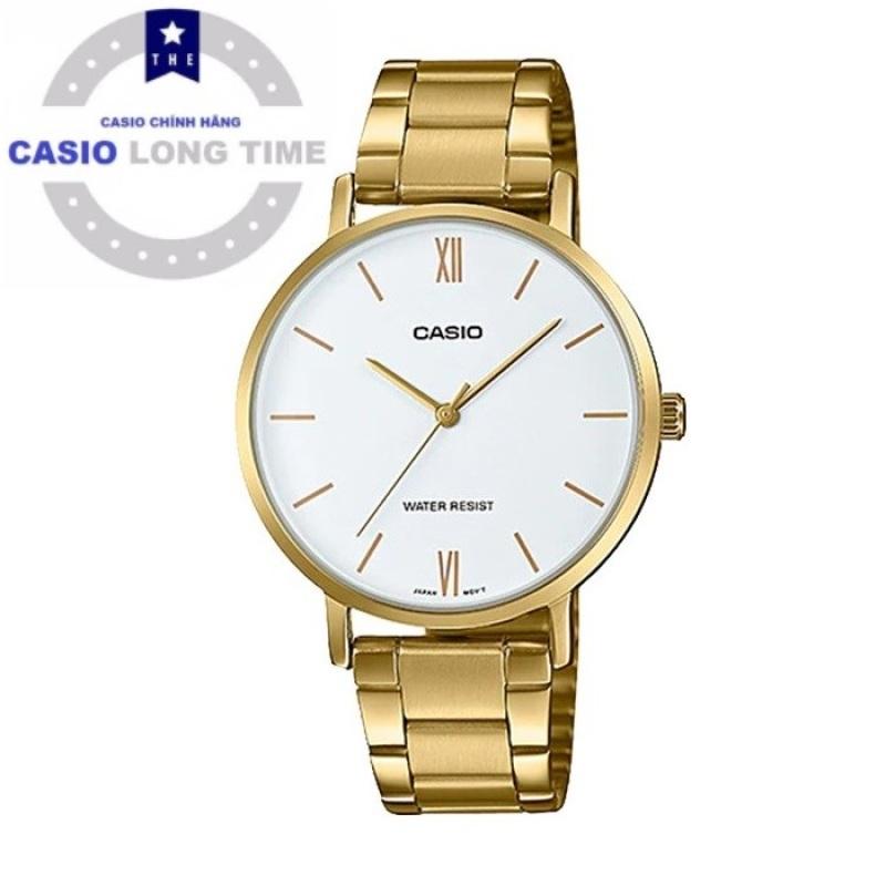 Đồng hồ Casio LTP-VT01G-7BUDF dây kim loại chính hãng